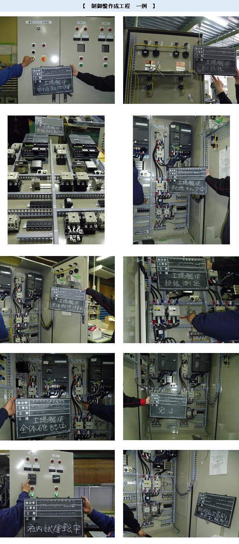 制御盤作成工程